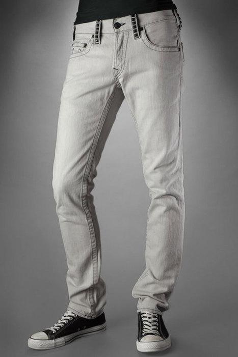 wholesale True Religion Jeans Men's Rocco Embellished Graphite Cheap for you | true religion clothing website_wholesaletruereligion.us | Scoop.it
