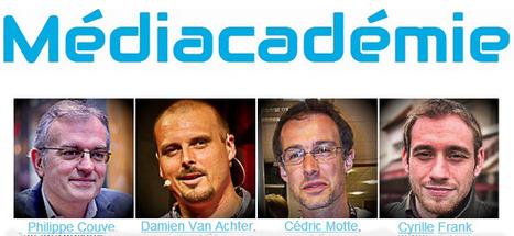 Médiacadémie, l'essentiel pour journalistes et producteurs de contenus numériques | DocPresseESJ | Scoop.it