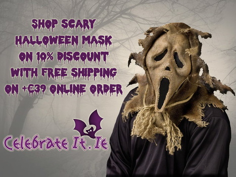 Best Halloween Masks to try this Year halloween party!!! | Costume Shop and Party Supplies Ireland  online | Scoop.it