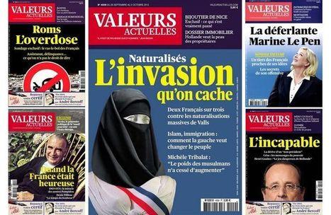Marianne voilée: le directeur de «Valeurs actuelles» condamné | DocPresseESJ | Scoop.it