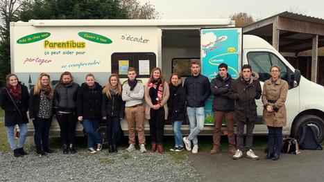 Les bénévoles de l'association Parentibus interviennent à la MFR de Saint-Sauveur   LES MFR DE LA MANCHE dans la presse et le Web   Scoop.it
