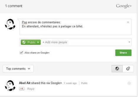 Ajouter les commentaires google plus sur Wordpress, comment faire? | Stratégie digitale et médias sociaux | Scoop.it