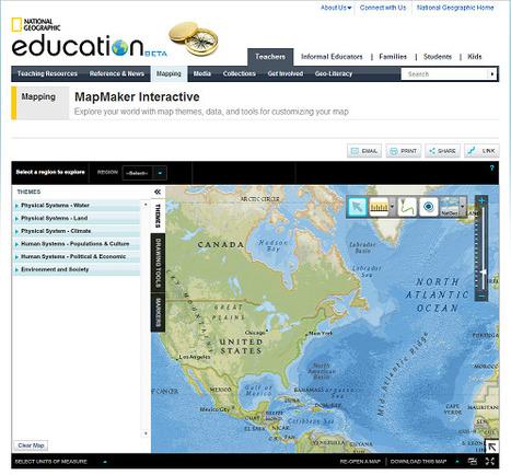 Mapea con MapMaker Interactive | Noticias, Recursos y Contenidos sobre Aprendizaje | Scoop.it