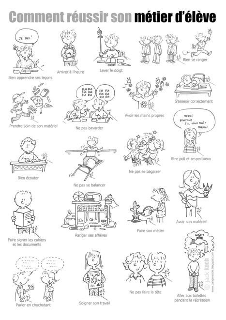 Nouveau poster pour réussir son métier d'élève | La page des enfants | Scoop.it