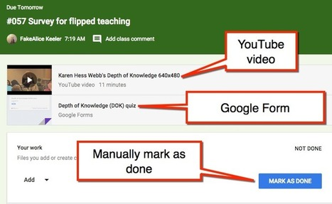 Google Classroom + Google Forms = Magic | iwb's | Scoop.it