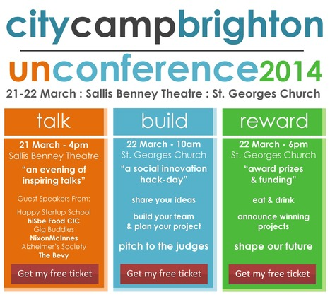 CityCamp Brighton | Talks to shake you up, inspire you and get you trying something new | Scoop.it