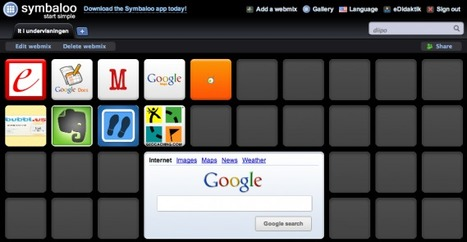 Symbaloo in Education   Critical Perspectives in Education   Scoop.it