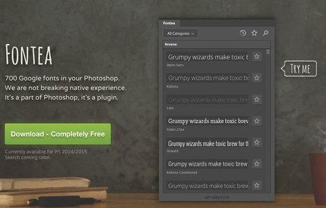 [Plugin] - Toutes les Google Fonts directement dans Photoshop | Mes ressources personnelles | Scoop.it