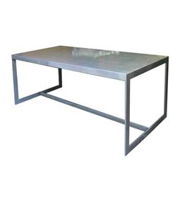 Dadra | Mesas de hierro y madera estilo industrial medida | MESA HIERRO PÚLIDO INDUSTRIAL SIX | Muebles de estilo industrial de hierro | Scoop.it