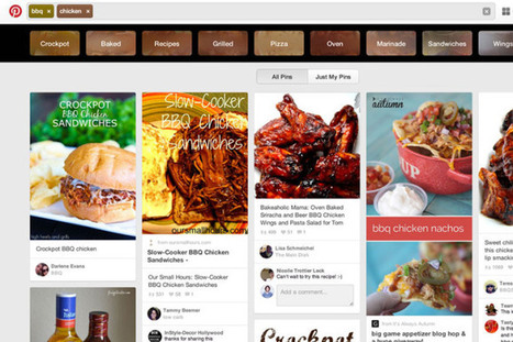 Pinterest Becomes More Search Engine-Like With The Launch Of Guided Search On The Web | AtDotCom Social media | Scoop.it