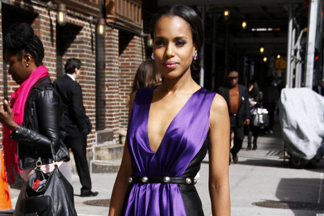 Kerry Washington Blows Us Away On The Best-Dressed List This Week (PHOTOS) - Huffington Post | FABRIS+FABRICS+FABRICS....HAND PRINTED FABRICS FOR ALL FASHION.. | Scoop.it