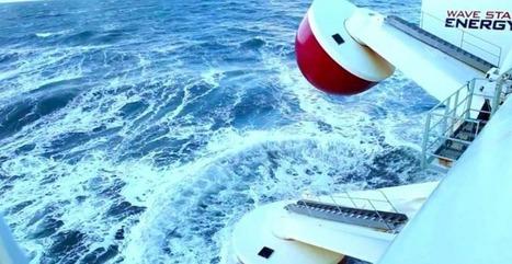 Une centrale à vague d'un nouveau genre voit le jour au Danemark | Carnets de plongée | Scoop.it