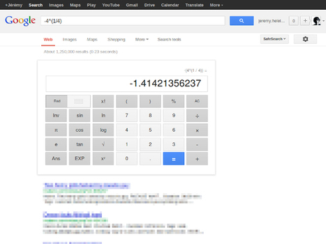 Quand Google renvoie du porno avec des requêtes mathématiques | Strange days indeed... | Scoop.it