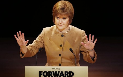 Nicola Sturgeon rejects 'complex and costly' EU warnings - Telegraph | Referendum 2014 | Scoop.it