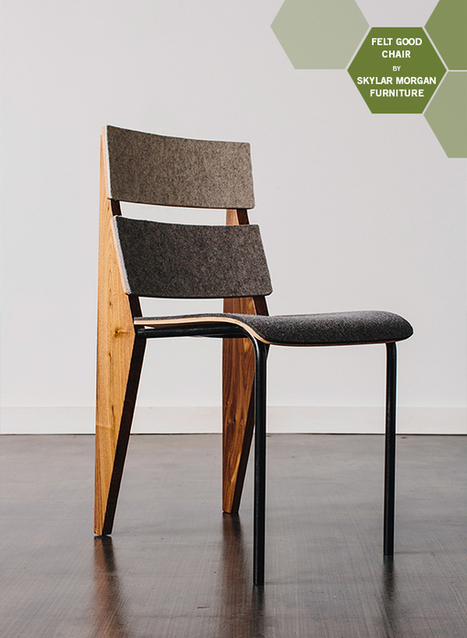 Material of the Moment: Felt | Make it Modern | Designed for Form and Function ....Chairs and Other Objects | Scoop.it