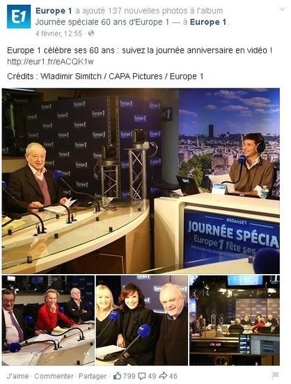 Comment Europe 1 a fêté ses 60 ans sur les réseaux sociaux | CommunityManagementActus | Scoop.it