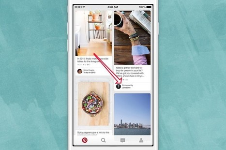Pinterest Is Now Pushing Promoted Pins Into Users' Home Feeds | Social & SEO Smart | Scoop.it
