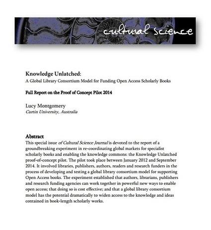 L'Open Access pour les publications scientifiques : une expérience pilote convaincante | Enssib | Faculty Workshop : monitoring | Scoop.it