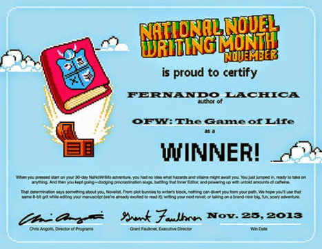 How to Become a Novel Writer #FernandoLachica - About Fernando Lachica | Overseas Filipino Worker (OFW):This is My Life and Story | Scoop.it