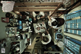 These apartments are so small they can only be photographed from the ceiling | Geography resources | Scoop.it