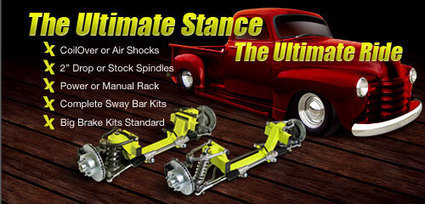 Suspension Kits & Accessories | « Helix Suspension Brakes and Steering | Hot Rod Parts | Scoop.it