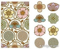 Korean floral pattern | Year 3-4 Arts: Visual arts - Korean patterns | Scoop.it