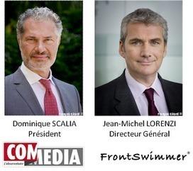 L'Observatoire COM MEDIA et FrontSwimmer, un partenariat inédit en faveur de l'innovation des PME françaises   L'actualité de la communication globale   Scoop.it