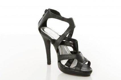 Twisted Woman's Victoria Strappy Heel Sandal   Wedding Shoes   Scoop.it