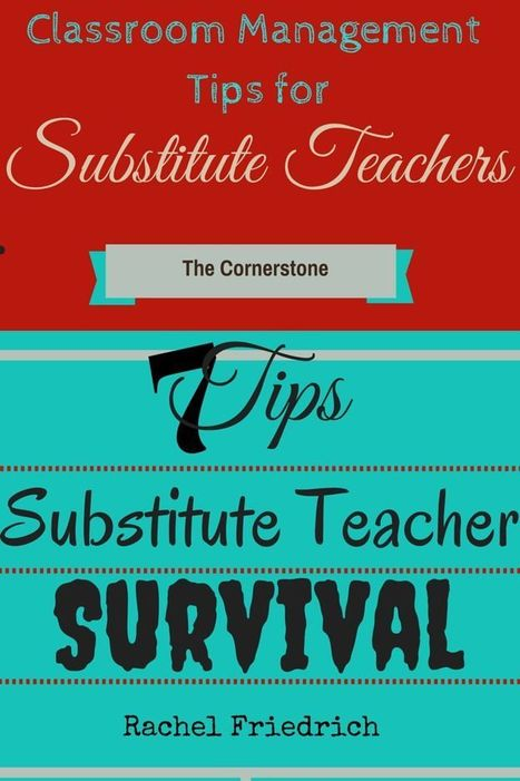 Classroom Management Tips for Substitute Teachers   Leadership Style & Teaching Methodology   Scoop.it