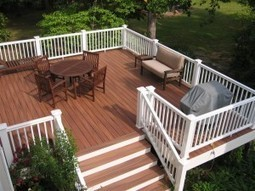Quality Composite Wood Railing Systems to Finish Your Deck in Style   Composite Decking and Railing   Scoop.it