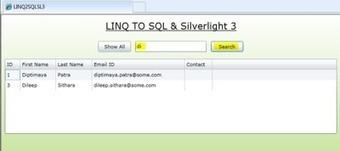LINQ To SQL In Silverlight 3   C#.NET   Scoop.it