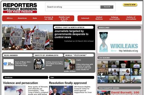 Reporters Without Borders | Top sites for journalists | Scoop.it