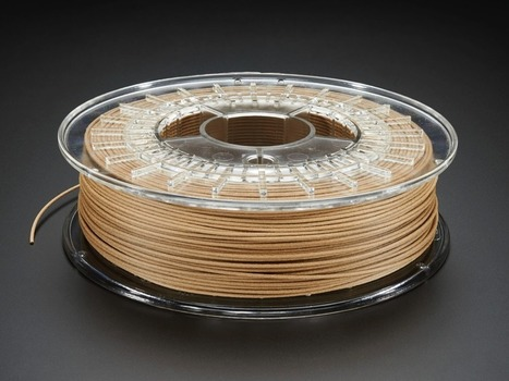NEW PRODUCT – PLA/PHA bambooFill for 3D Printers – 1.75mm Diameter – 600g | BIOCOMPOSITES | Scoop.it
