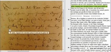 Champollion 2.0 : le scribe des paléographes avisés - RFGenealogie.com | Nos Racines | Scoop.it