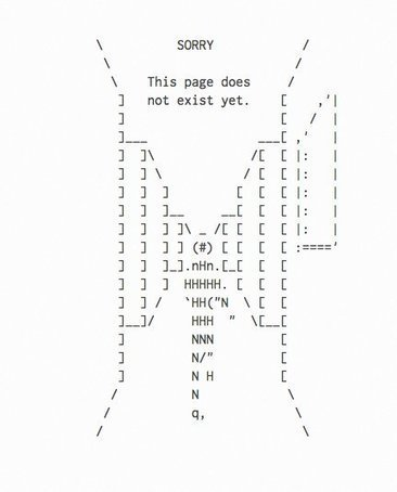 Tweet from @Root3d | ASCII Art | Scoop.it