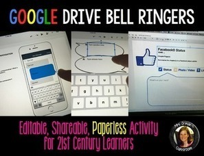 Google Drive Digital Bell Ringers | Common Core Resources for ELA Teachers | Scoop.it