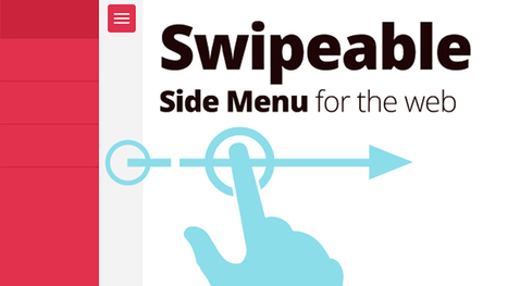 Creating a Swipeable Side Menu for the Web | youyouk | Scoop.it