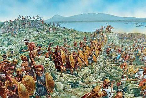 La única vez que los espartanos se rindieron: la batalla de Esfacteria | Griego clásico | Scoop.it