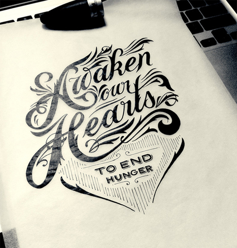 20 Amazing Examples of Typography Sketches for Your Inspiration | Inspiring Typography | Scoop.it