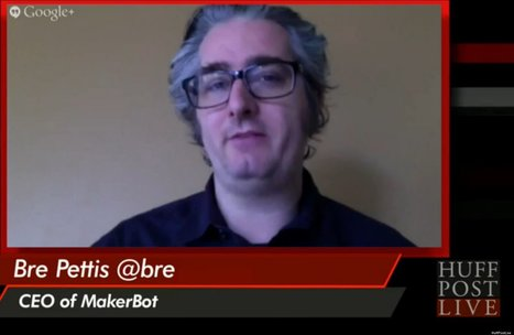 C-Suite: MakerBot CEO Bre Pettis Tells Execs, Don't Be The Smartest Guy In The ... - Huffington Post | 3D Printing | Scoop.it