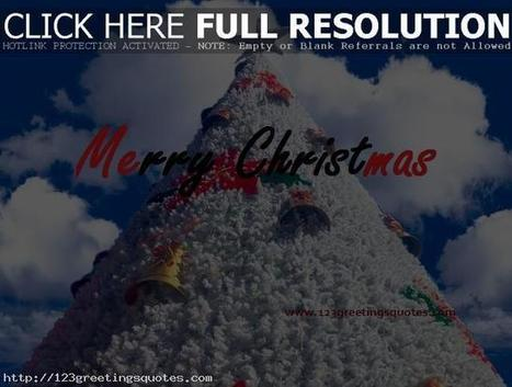 Best X - Mas Christmas Card Quotes & Wishes | 123GreetingsQuotes | Scoop.it