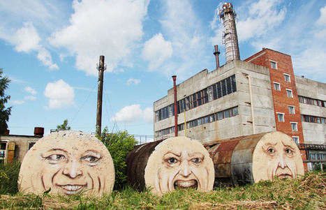 Nikita Nomerz street art   Share Some Love Today   Scoop.it