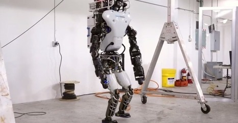 DARPA's Incredible Humanoid Robot Can Now Walk On Its Own Two Feet, No Support Required | Robolution Capital | Scoop.it