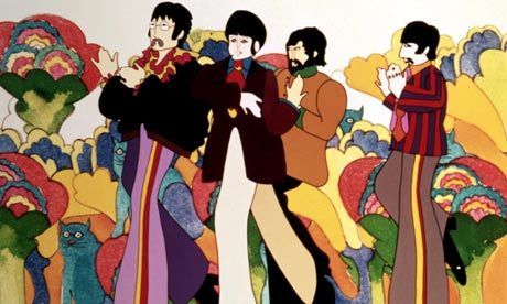 "How the Beatles' Yellow Submarine gave rise to modern animation | CF Art Dept ""stuff"" 