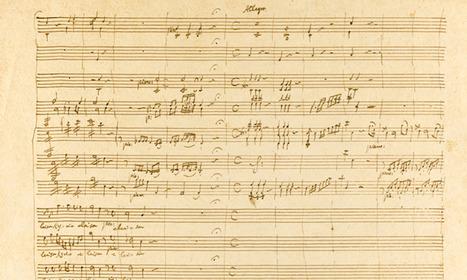 Mozart Manuscript Auctions for $1 Million - WQXR | Klassische Musik | Scoop.it