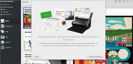 The Best Scanning Experience: ScanSnap Evernote Edition Scanner - Evernote Blog   Evernote, gestion de l'information numérique   Scoop.it