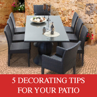 5 Tips for Decorating Your Patio - Design Furnishings   Outdoor Furnishings   Scoop.it