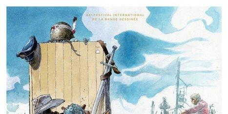 Angoulême : l'affiche du prochain festival de la BD signée Hermann | L'actu country pour les pottoks | Scoop.it