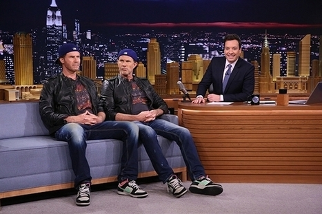 Will Ferrell and Chad Smith Drum-Off on The Tonight Show: Who's the Real Chad Smith? | Digital-News on Scoop.it today | Scoop.it