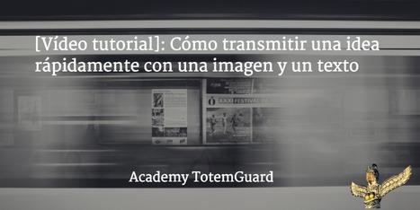 Cómo transmitir una idea rápidamente con una imagen y un texto│@totemguard | Linguagem Virtual | Scoop.it